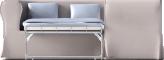 Ektorp 2 Seat Corner Bed SofaVoorkant