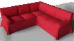 Ektorp Seat Corner Bed Sofa3D View