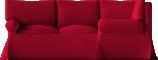 Ektorp Seat Corner Bed SofaFront