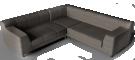 Kramfors 2 Seat Corner Sofa3D View