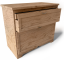 Aspelund Chest of 2 Drawers3D View
