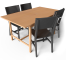 Norden Gateleg Table and Chair3D View