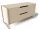 Anes Chest of 2 Drawers Brich veneer3D View