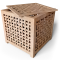 HOL Side Table Basket3D View