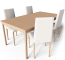 Extendable Dining Table3D View