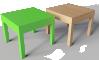 Lack Side Table3D View