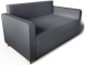 Solsta 2 Seats Sofa3D View