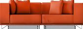 Tylosand 3 Seat Sofa BedVorne