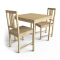 Ingo Table and Stefan Chairs3D View
