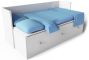Hemnes Day Bed Frame3D View