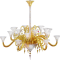 Mille Nuits Gold Mille Nuits 18L Gold Chandelier3D View