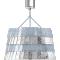 Tuile De Cristal Ceiling Large size Frozen Silver3D View