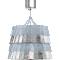Tuile De Cristal Ceiling Medium size Frozen Silver3D View