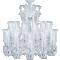 Zénith Chandelier Ceiling 24L avec Huricanes3D View
