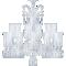 Zénith Chandelier Ceiling 24L avec HuricanesRight