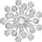 Solstice Chandelier Ceiling 24LTop