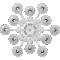 Solstice Chandelier Ceiling 12LOben