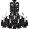 Lustre Zénith Noir 18L3D View