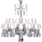 Zenith Chandelier 24L UnfocusedLeft