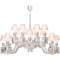 Ellipse Chandelier 16L3D View