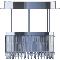 Lady Crinoline chandelier Classic 1 moduleArrière