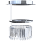Lady Crinoline Comete 1 module LED chandelier3D View
