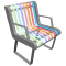 PASTEL Chair3D View