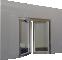 Porte vitree EI60 NEO 2 vantaux Simple action ou va et vientגב