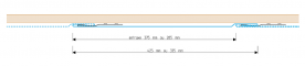 VMZINC® Flatlock panelFront