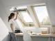 Fenetre de toit a rotation finition bois massif3D View