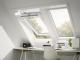 Fenetre de toit a rotation finition blanche3D View