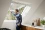 Fenetre de toit a projection finition blanche3D View