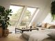 Fenetre de toit fixe pour verrieres planes bois3D View