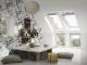 Fenetre verticale pour verrieres d angle blanche3D View