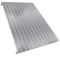 Steel facings s with panel roofing polyurethane core3D View