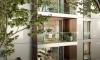 Lumicene Modèle applicable en immeuble collectif poutre béton préfabriquéGauche