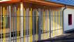 Pedestrial swing gate STEM (1 door)3D View