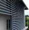Brise - soleil à lames clipsables pose verticaleTECHNICAL AXO