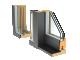 Glass sliding door CLEAR type ATop