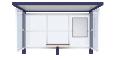 Bus shelter Cirrus StandardFront