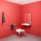 Bathroom sceneVorne