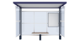 Bus shelter JuniorFront