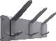 Heavy duty multy purpose stainless steel coat racks 3D View