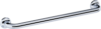 Straight grab bar, 600 mm, Chrome and nickel-plated Brass, tube Ø 32 mm 73D View