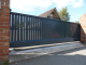 Sliding gate  CA Aluette TwisterLeft