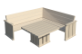 Palette Wood Furniture 13D View