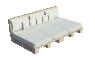 Palette Wood Sofa3D View