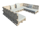 Palette Wood Furniture 43D View