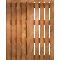 Palette Wood Bed FTop
