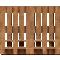 Palette Wood Bed FFront